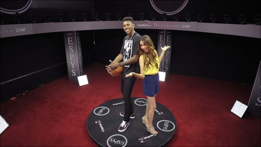 Testing out the ESPYs 360 Cam w/Co-Host Nick Young