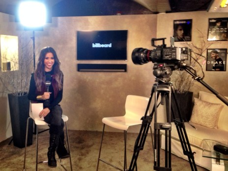 Hosting Billboard's Sundance Lounge