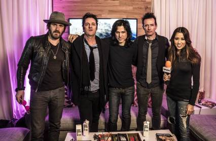 Michelle interviews Scott Weiland and The Wildabouts about their performances during Sundance