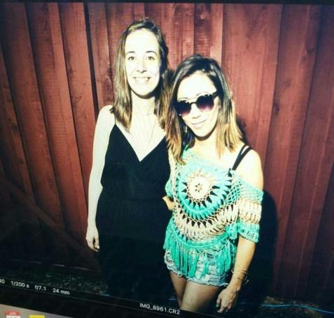 Interview w/ Margaret Glaspy | #MMSteez - top: Molly Bracken | Denim Shorts: Mink Pink | Sunglasses: Quay