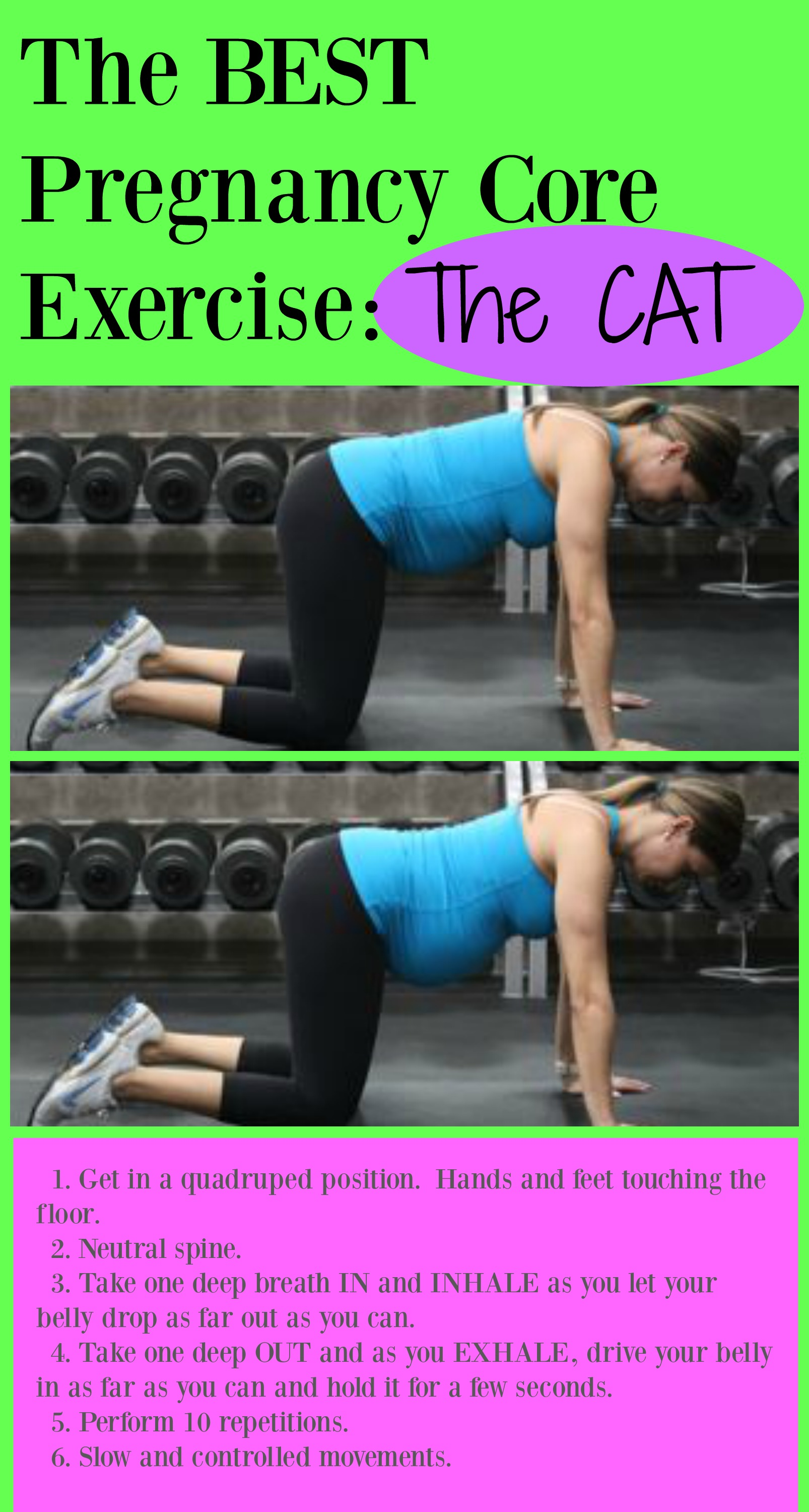 Pregnancy Core Exercises Good Or Bad