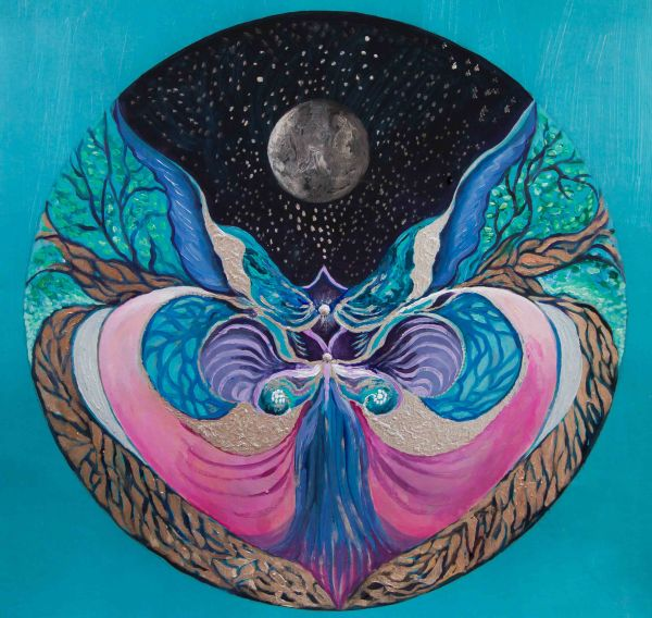 Moon Astrology Art