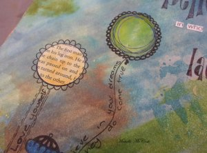Stamotique Art Journal Page