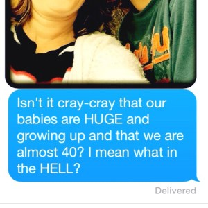 Just sent this text to my bestie this past week.