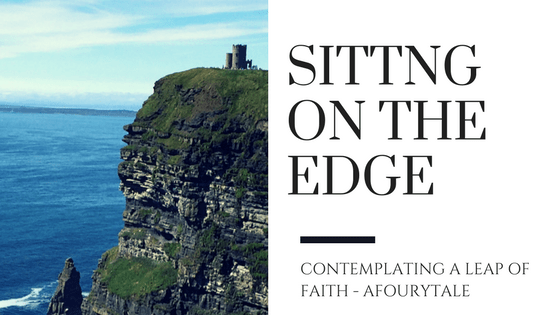 Sitting on the edge