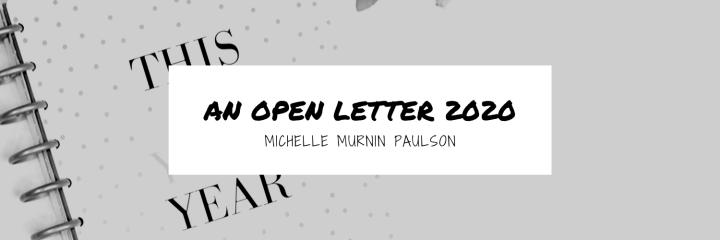 Open Letter 2020