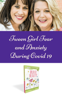 tween girl worry and anxiety
