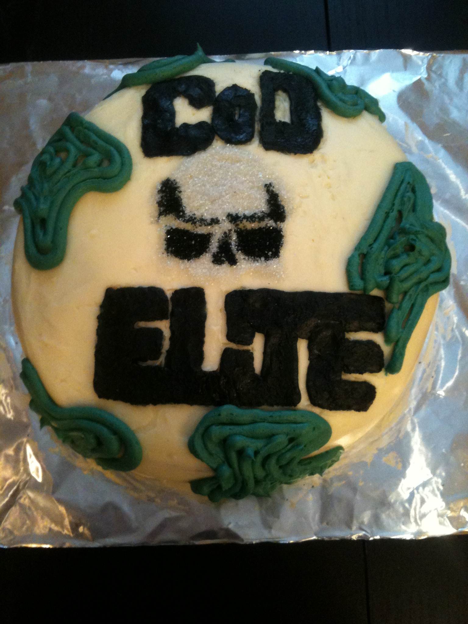 Call Of Duty Cake Recipe : recipe, Camouflage, Tutorial, Michelle's, Meals