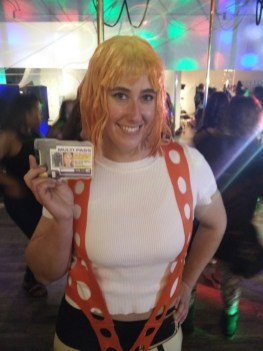 Michelle Prosek Leeloo Fifth Element Fly Gym