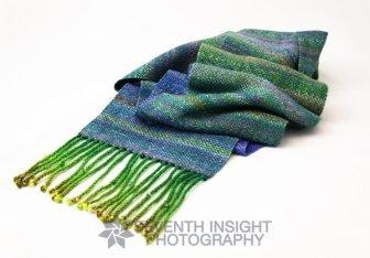 Hand-woven scarf by Danuta Kamocki