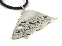 Fan pendant by Lynda Carr Jewellery