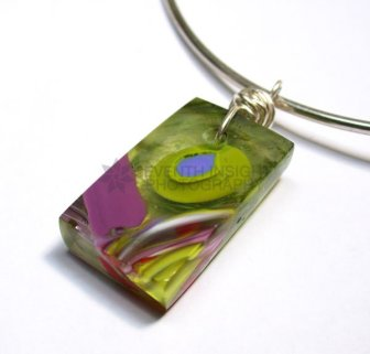Glass Pendant by Alison Rose