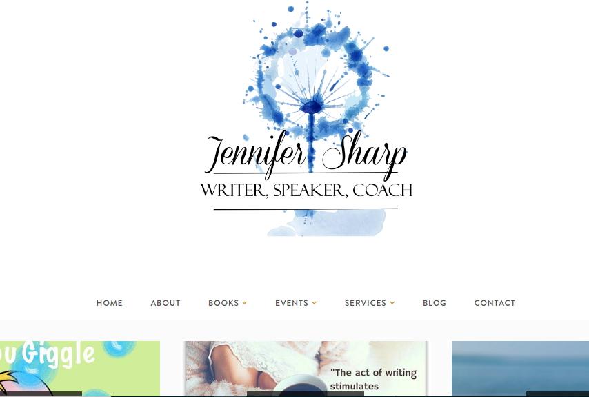 Jennifer Sharp - Author, Speaker, Coach