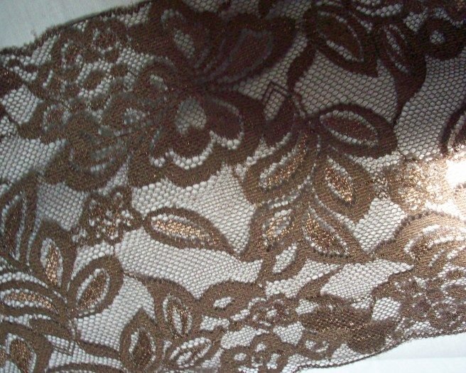 brown lace