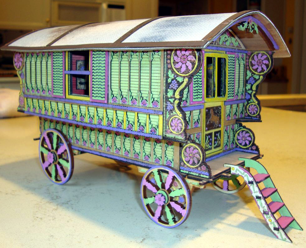 Kits  One Inch Scale  Michelles Miniatures Laser Cut