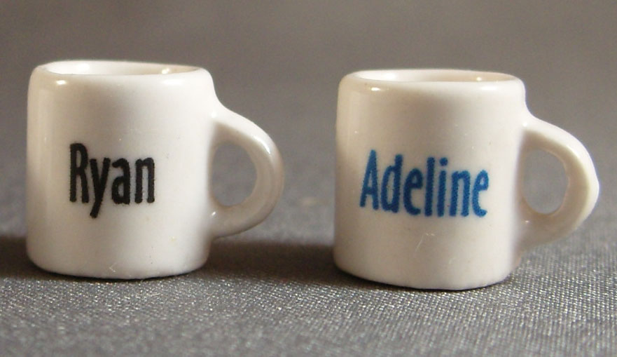 mini mug with name
