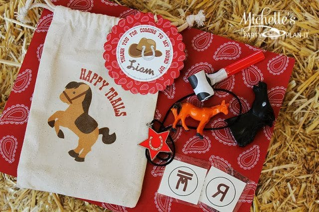 Cowboy Party Favor Printable