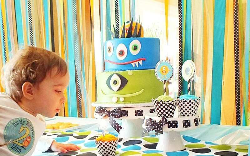 Monster Bash for a Special Lil' Monster   Monster Party Ideas