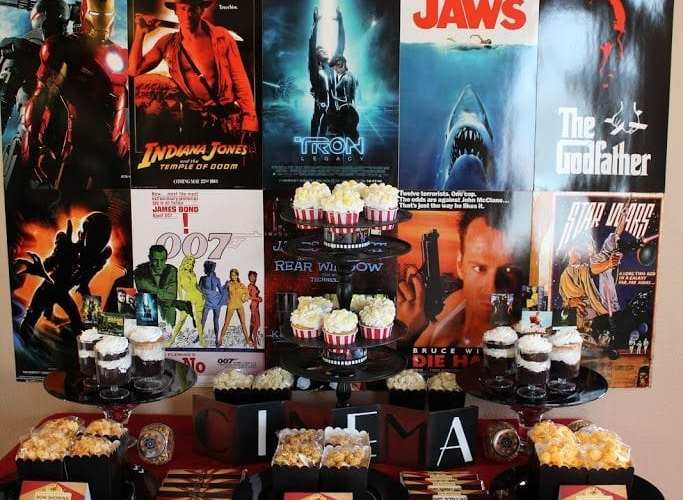 Father's Day Movie Night Celebration