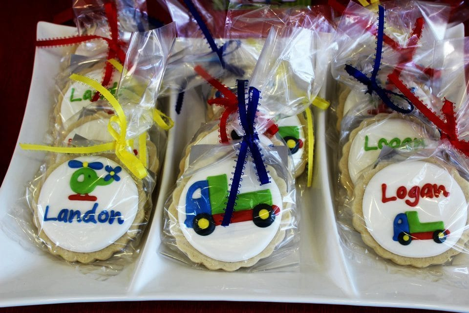 Transportation Cookies