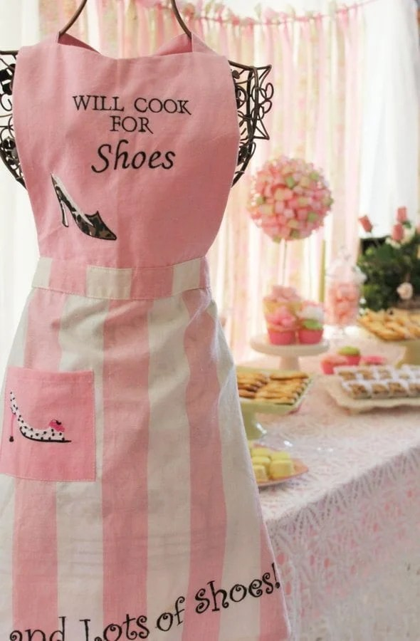 My Cup Runneth Over - A Tea Party On A Budget - Will work for shoes
