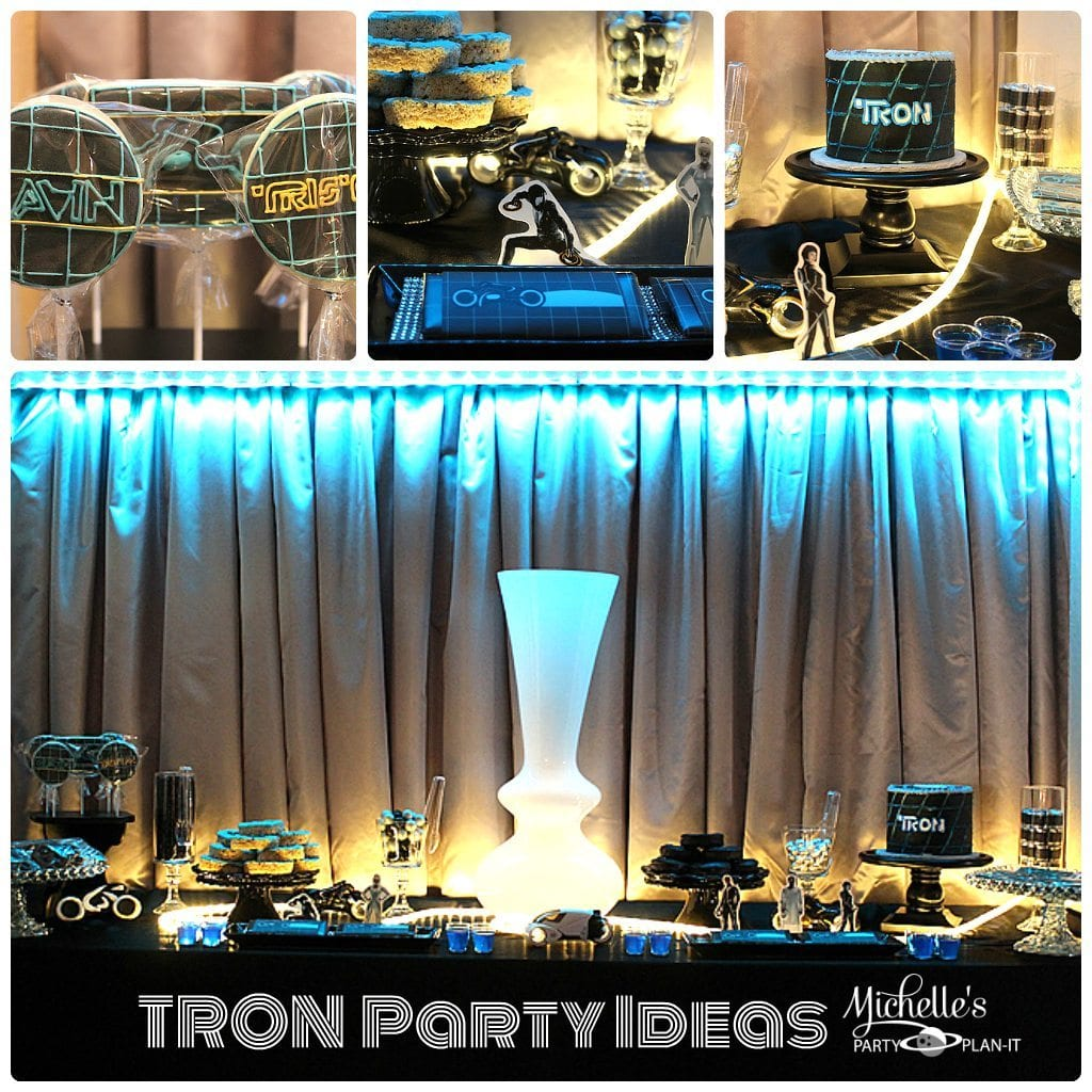 A TRON Party For Two Michelles Party Plan It