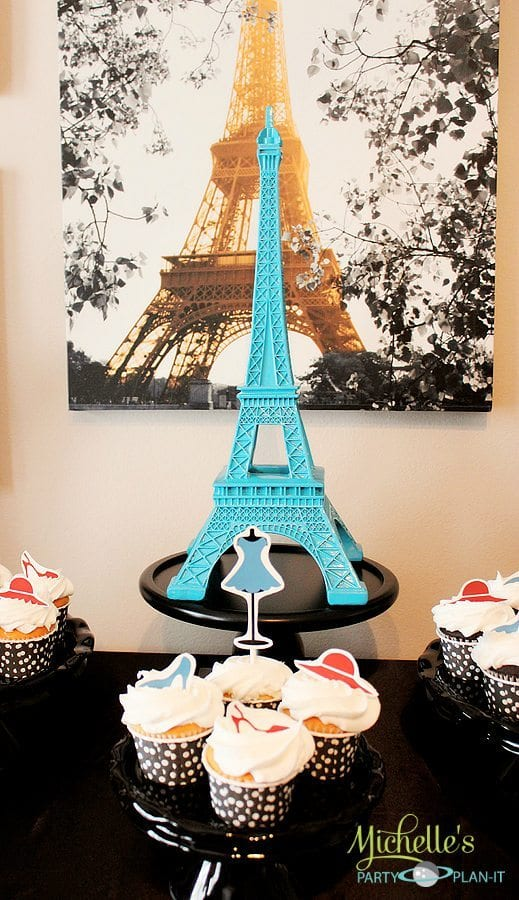 French Parisian Party Ideas For A Girl Birthday Paris