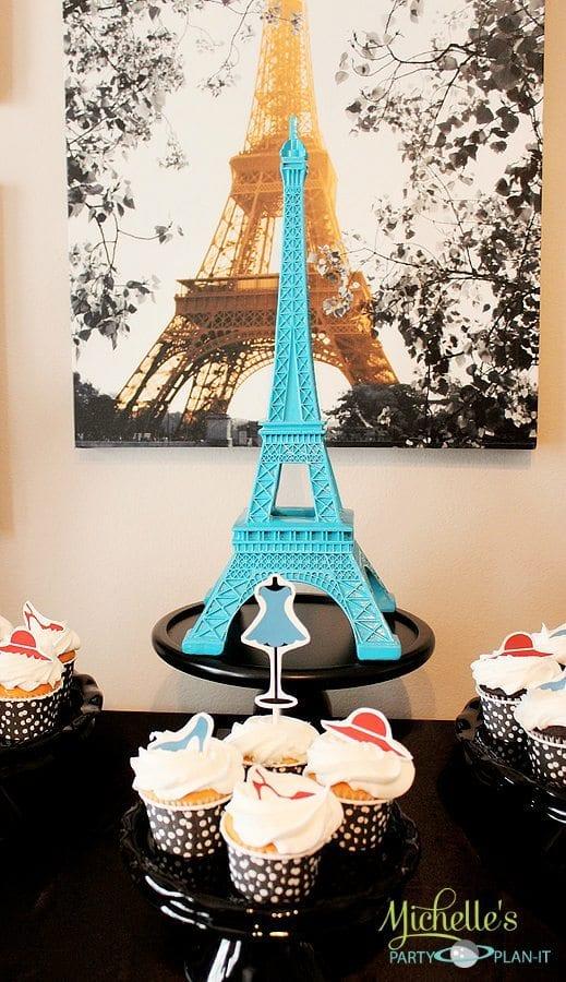 Quot A Day In Paris Quot Dessert Table Parisian Party Ideas