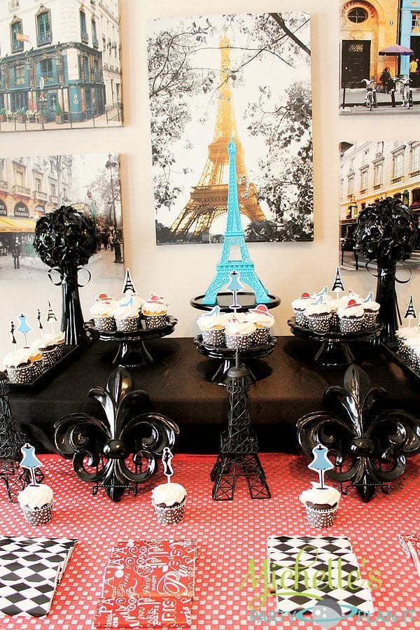 """""""A Day in Paris"""" Desserts and decor"""