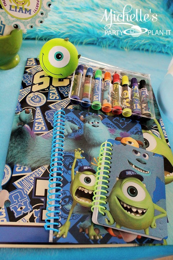 Monsters University Back To School Party Favors