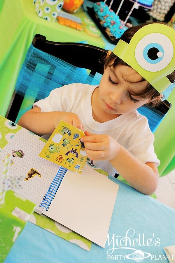 Monsters University Back to School Party Ideas