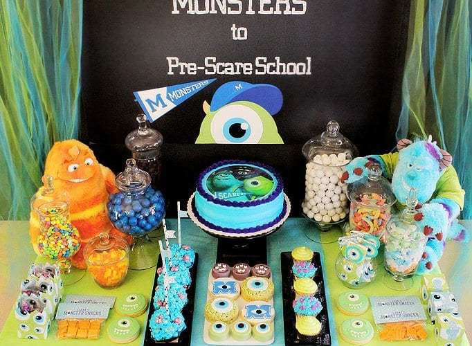 Monsters University Party |Monsters Pre-Scare School