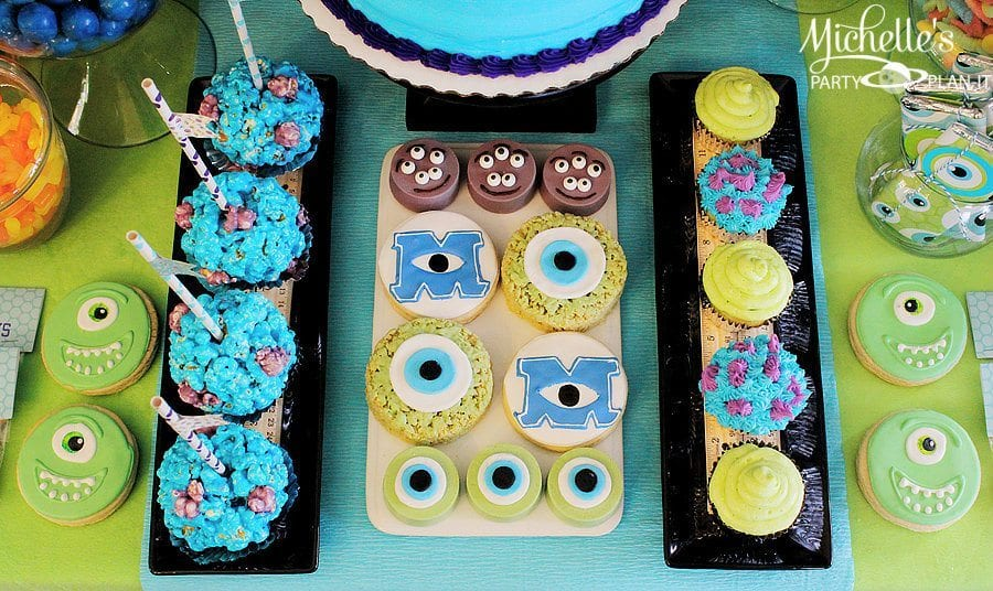 Monsters University Birthday Party Ideas