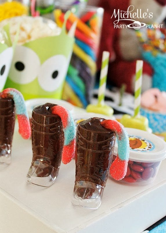 Toy Story Party Ideas - There's a Snake in my Boot!