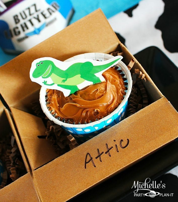 Rex Cupcake Toppers