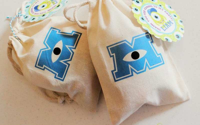 DIY Monsters University Inspired Party Favor Bags – Printable