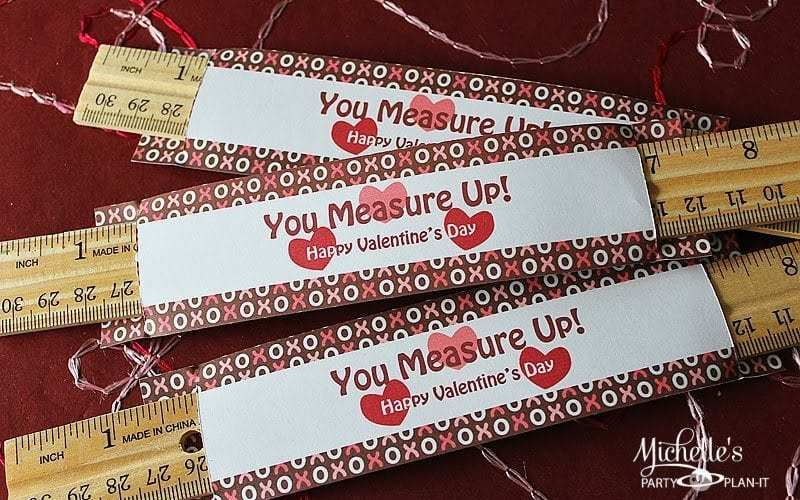You Measure Up! – Free Valentine's Day Printables!