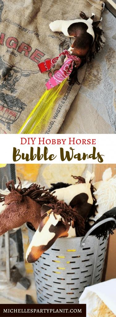 Hobby Horse Bubble Wands