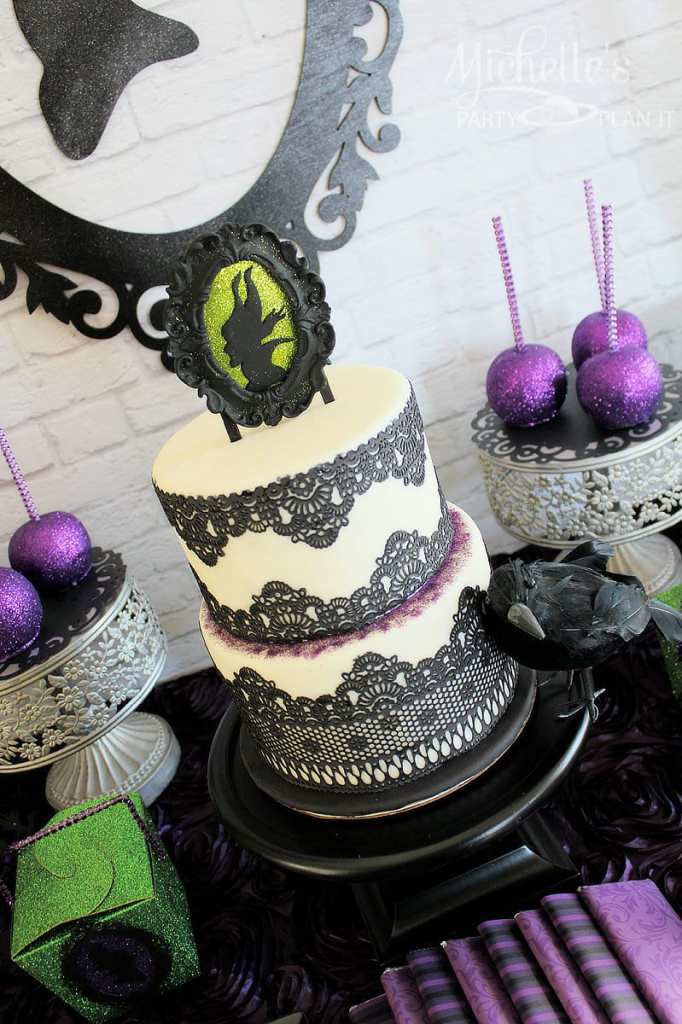 Maleficent Party Ideas - Maleficent Cake