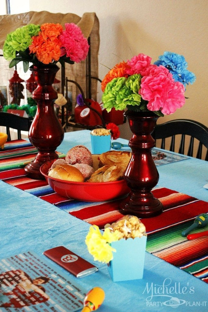Nacho Libre Party Table Setting