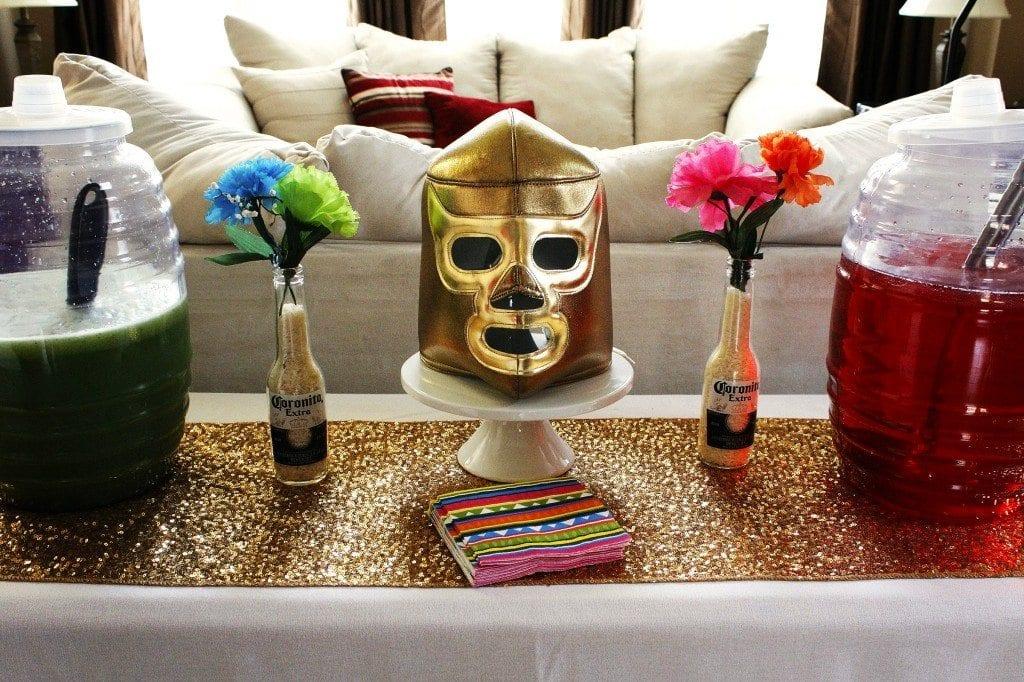 Nacho Libre Party - Rameses Mask