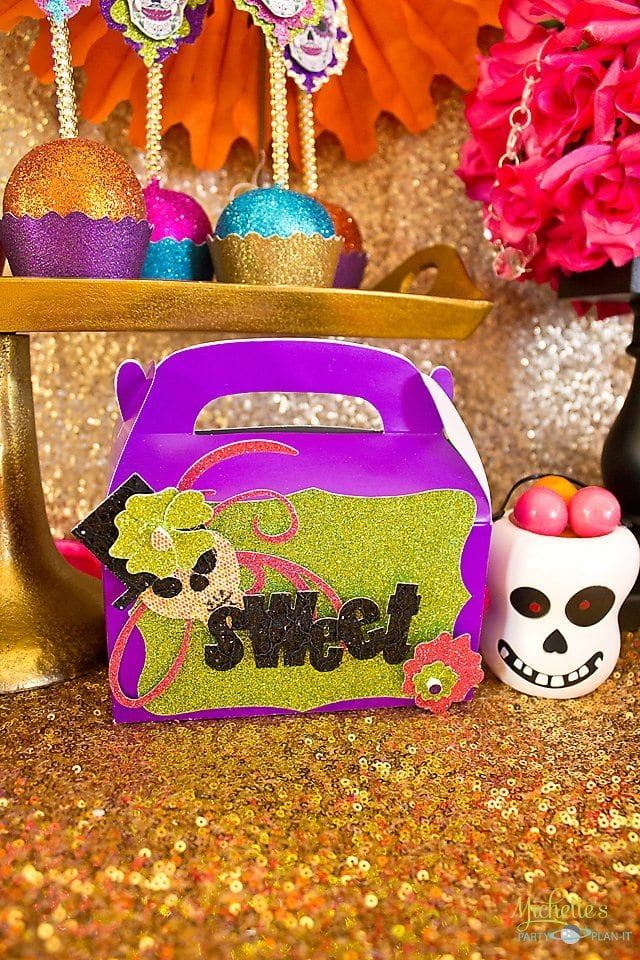 Day of the Dead Party Treat Boxes