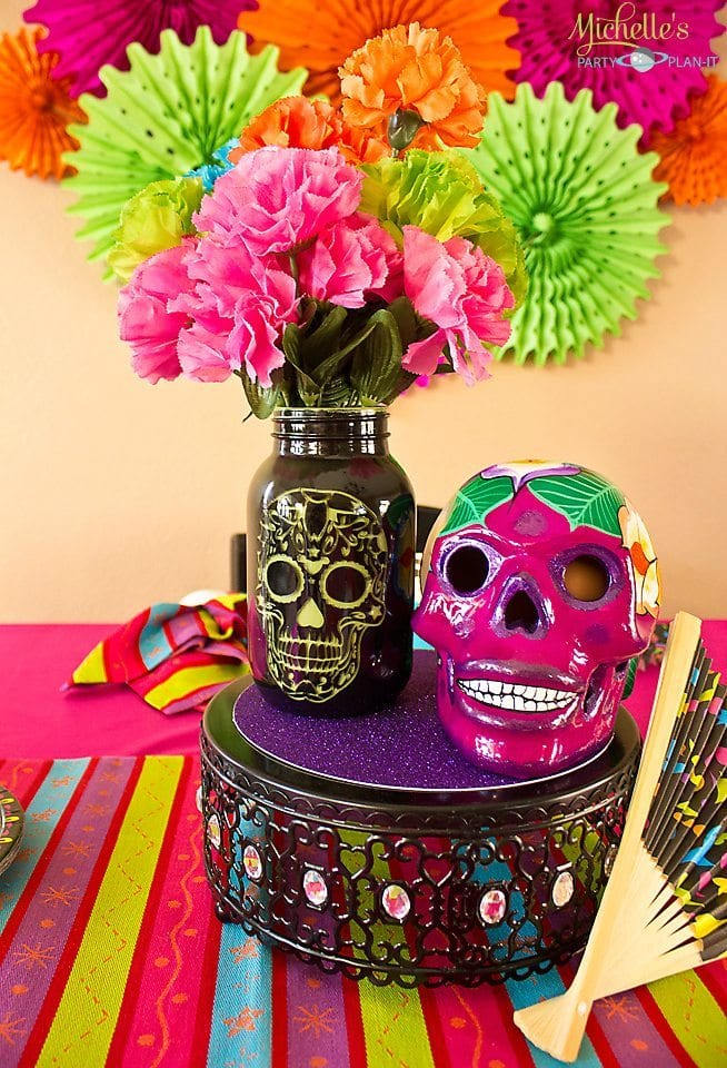 Day of the Dead Party Centerpiece