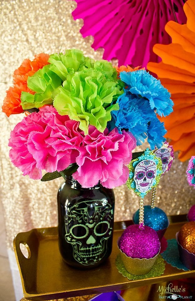 Day of the Dead - Sugar Skull Jars