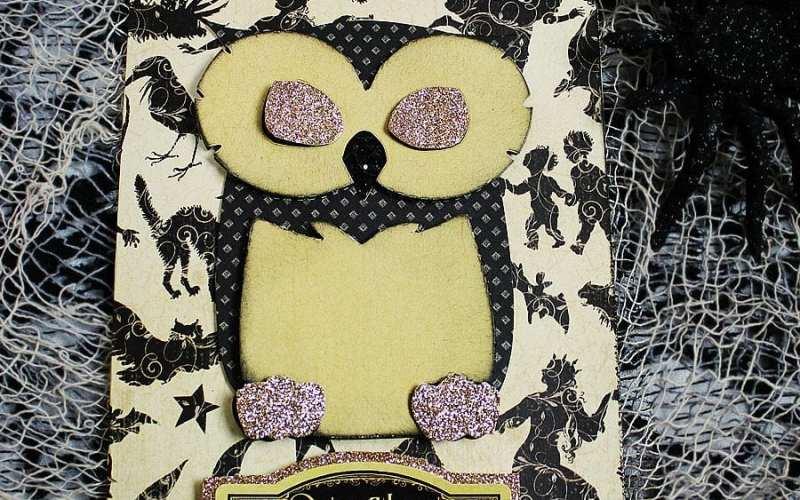 Spooky Owl Halloween Card | Sizzix Tutorial