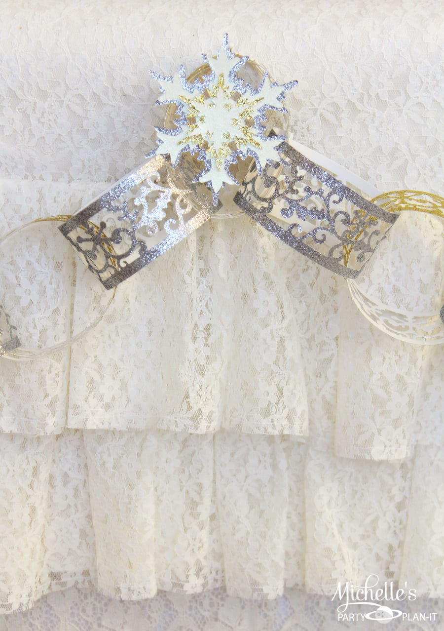 Gold & Silver Christmas Party Ideas - Michelle's Party Plan-It