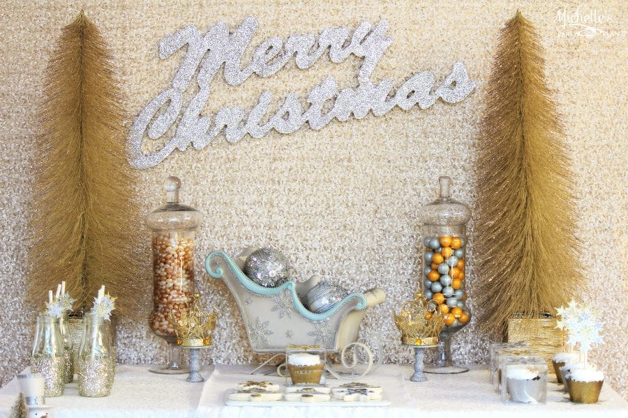 Gold Silver Christmas Party Ideas Michelles Party Plan It