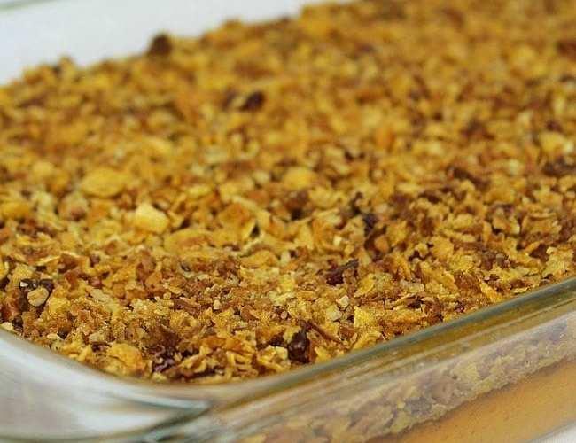 Sweet Potato Coconut Crunch Casserole | Recipe