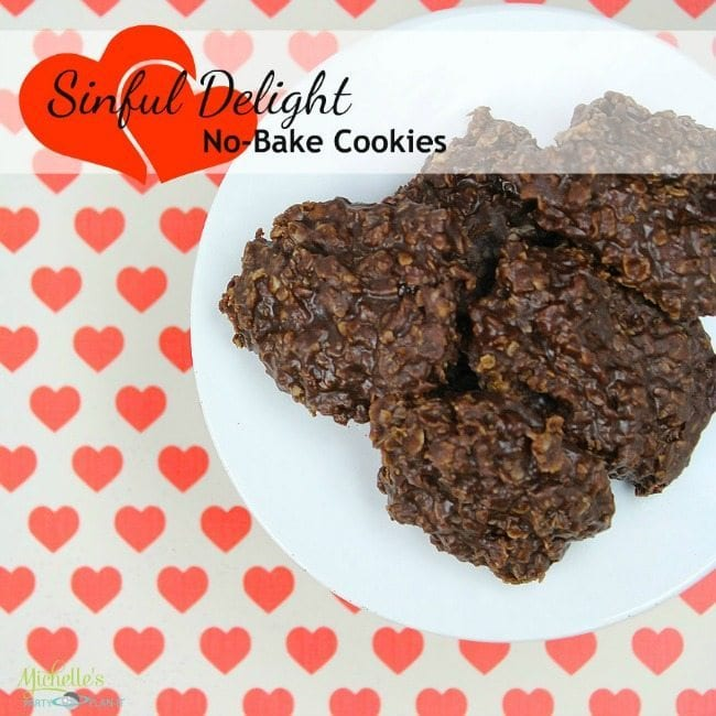 Chocolate and Peanut Butter No Bake Cookies | Recipe