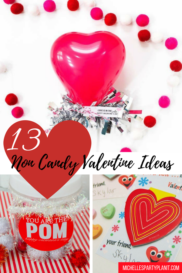 Non Candy Valentine Ideas!